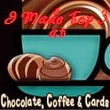 Pri Chocoloate, Coffee & Cards sem bila izbrana med TOP 3 izdelke