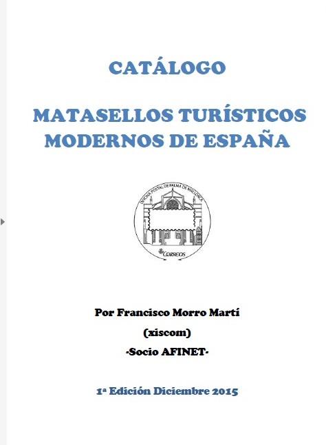 CATÁLOGO MATASELLOS TURÍSTICOS ESPAÑA