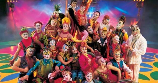 Febrero 2015 Cirque Du Soleil en Riviera Maya JOYA