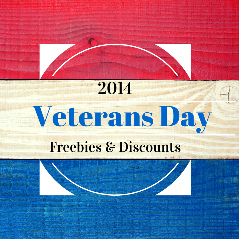 Utah veterans day freebies