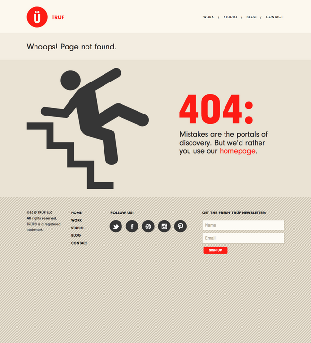 30 Funny & Creative Examples Of 404 Pages