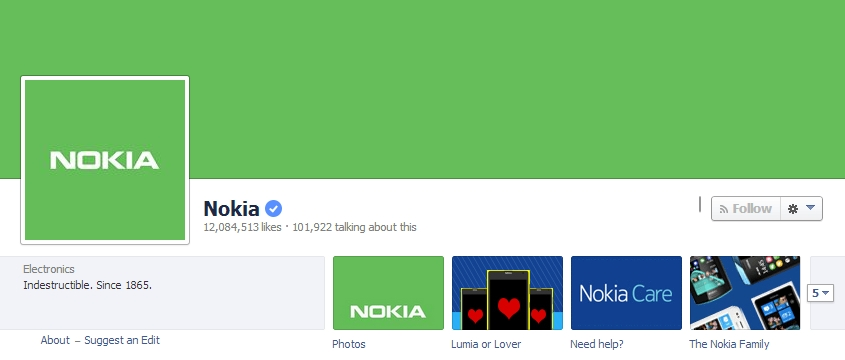 Nokia goes green