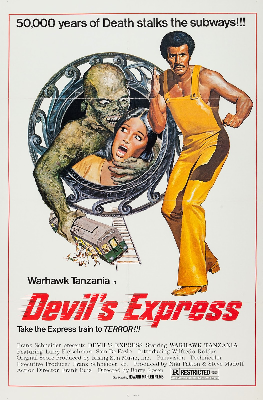 DEVIL'S EXPRESS - Barry Rosen, 1976, USA Devilsexp