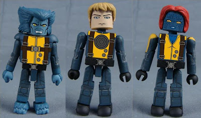 X-Men: First Class Minimates - Beast, Havok &amp; Mystique