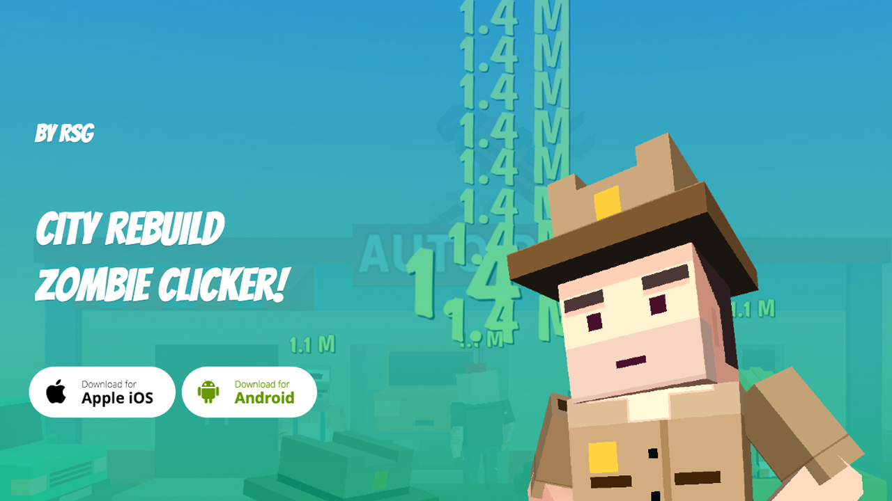 City Rebuild - Zombie Clicker Gameplay IOS / Android
