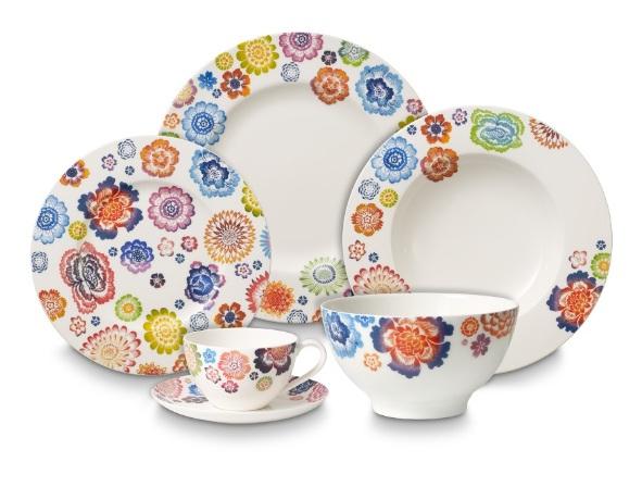 Pi kna porcelana sto owa anmut bloom moc kwiat w i kolor w - Bouilloire villeroy et boch ...