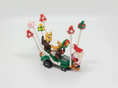 ナノブロックで MMクリスマス