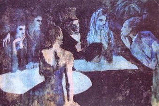 Pablo Picasso The Wedding Veil of Pieretta