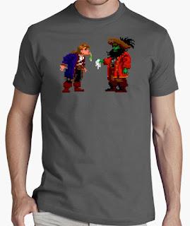 Camisetas Monkey Island Guybrush y Lechuck