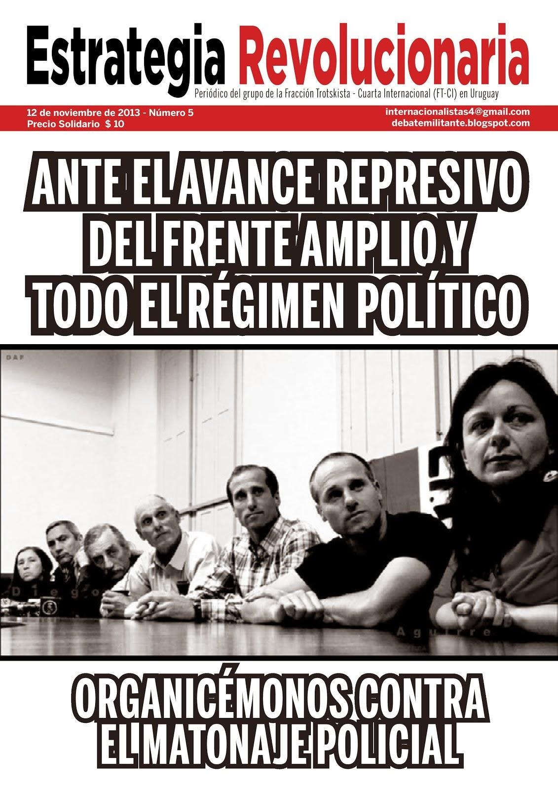 Periódico Estrategia Revolucionaria Nº5