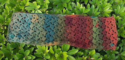 The Florida Crochet Garden: First Infinity Scarf Complete ...
