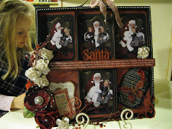 Visit To Santa - Artist Tray