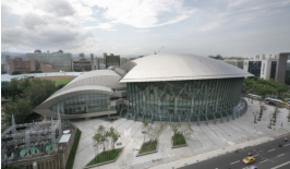 Titanium Sheet Metal Is Larger Scale Used For Taipei Municipal Stadiumu0027s  Roofing And Facades