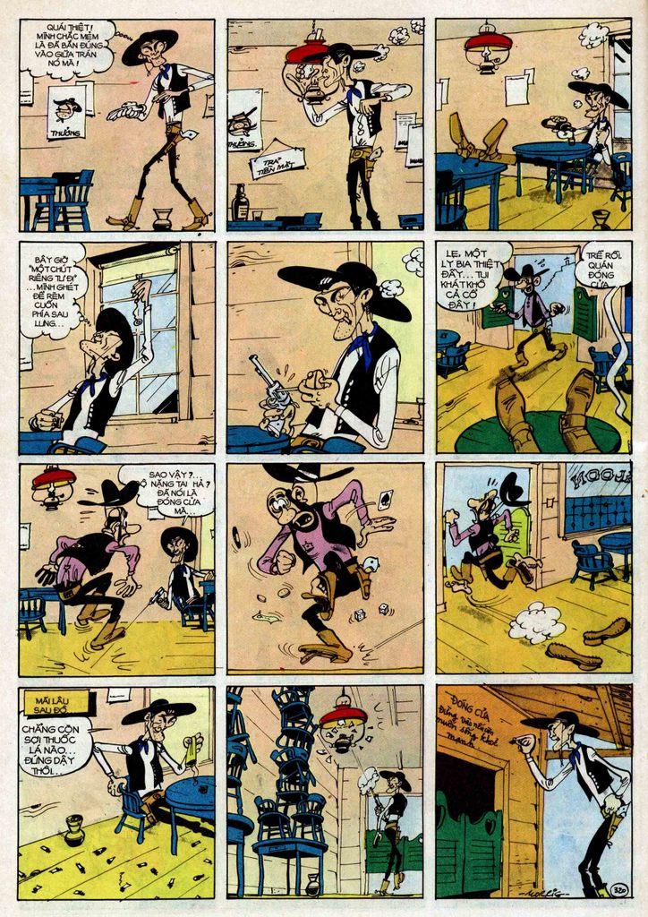 TruyenHay.Com - Ảnh 20 - Lucky Luke Tập 25 - Nhện Chân Dài