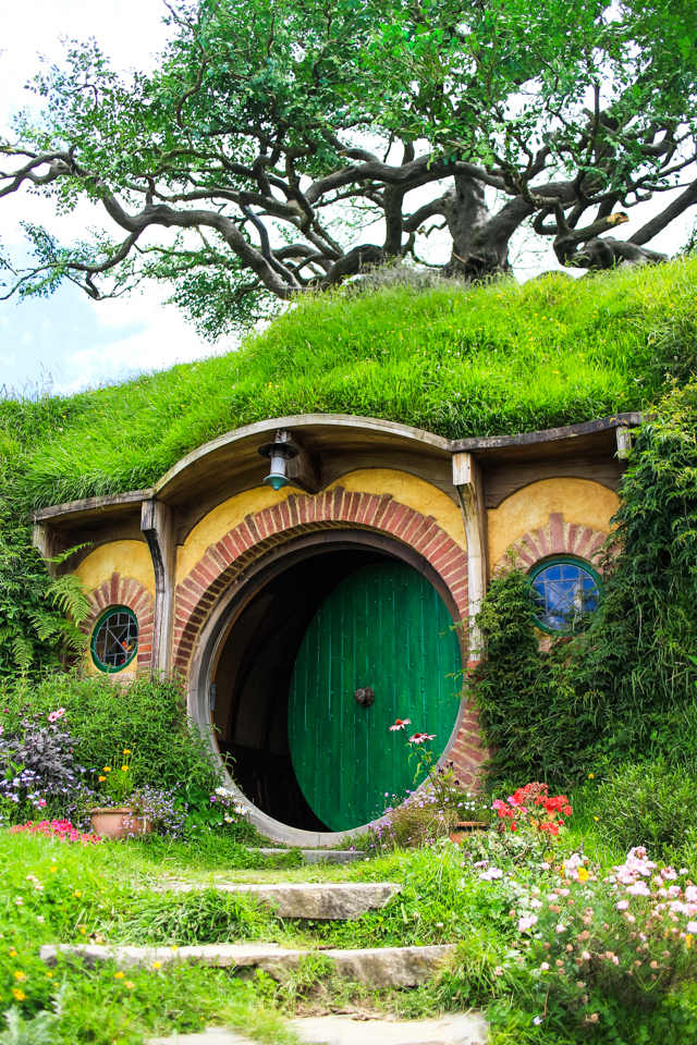 take a peek inside Bilbo Baggins' hobbit hole