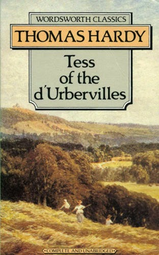 Book cover of Tess of the d'Ubervilles by Thomas Hardy