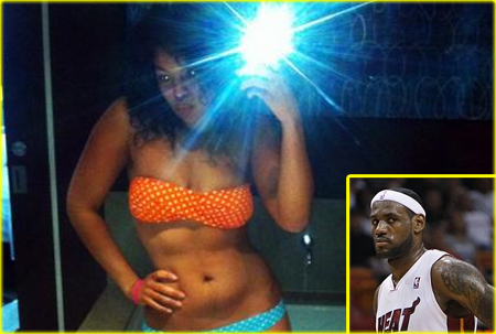 lebron%2Bjames%2Bjordan%2Bsparks ... daring bikini of the day  a tiny red crochet number which left very ...
