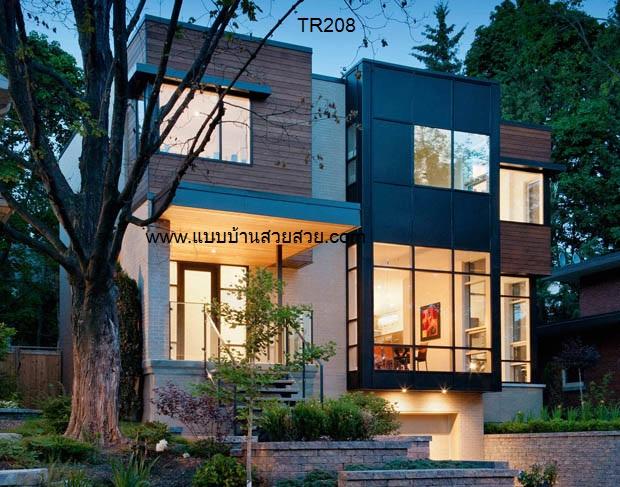แบบบ้านสวย บ้าน2ชั้น TR208