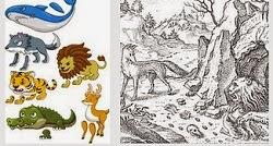 Cerita Fabel Dalam Bahasa Inggris Monyet Dan Buaya Beserta Artinya