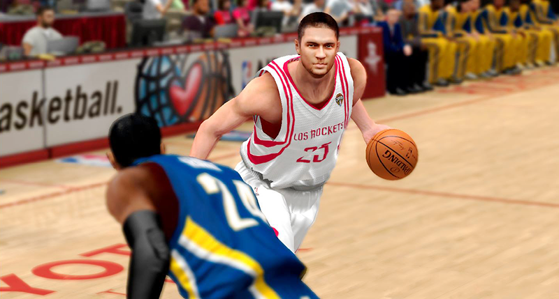 NBA 2K14 Chandler Parsons Next-Gen Face Mod