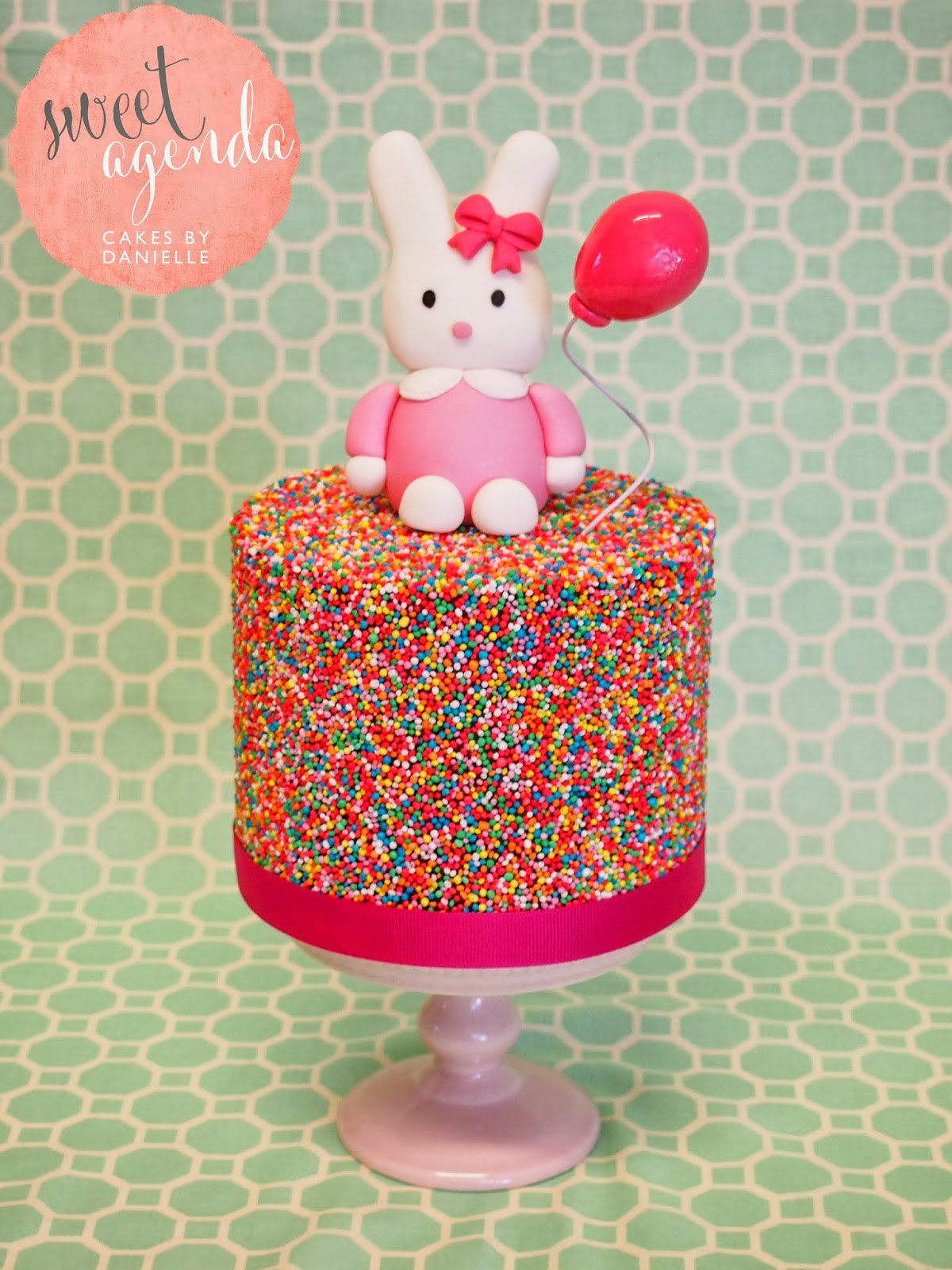 Decorating With Sprinkles Sweet Agenda Cakes Sprinkle Cake Tutorial