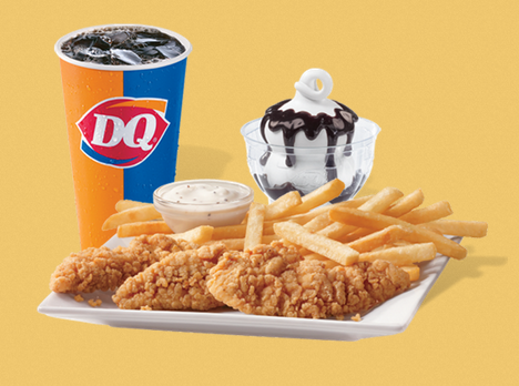 Now For A Limited Time Dairy Queen Is Offering A 5 Buck Lunch Deal You Can Choose From Either A 1 4 Lb Grill Burger Chili Cheese Dog Or 3 Piece Chicken