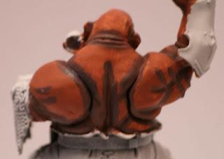 Warhammer primeras sombras de la pintura de la piel de ogro