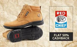 Red Chief Extra 50% Cashback PayTm