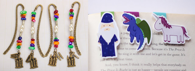 Harry Potter bookmarks sonicincendio craftedvan gift guide