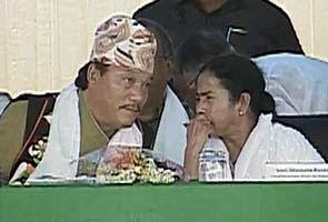 CM Mamata GTA chief Bimal Gurung