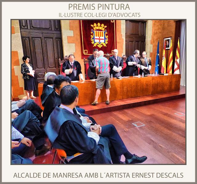 MANRESA-PREMIS-PINTURA-ALCALDE-COL·LEGI D´ADVOCATS-AJUNTAMENT-ARTISTA-PINTOR-ERNEST DESCALS-