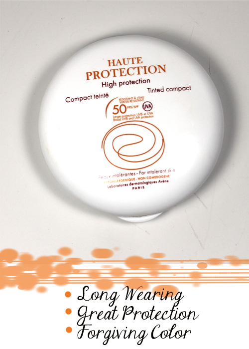 avene high protection tinted compact