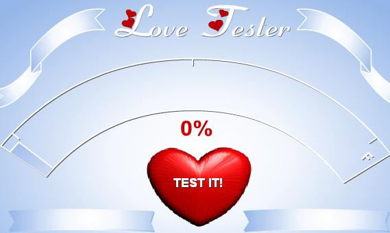 games online love tester