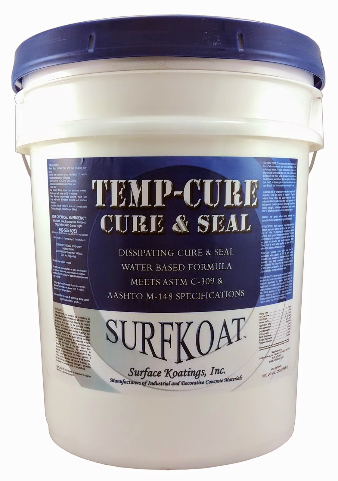 Concrete Stain And Sealer : Surfkoat™ concrete stain sealer products
