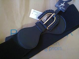 cinturón negro Primark