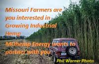 Industrial Hemp-It All Starts on a Farm! Attn Missouri Farmers