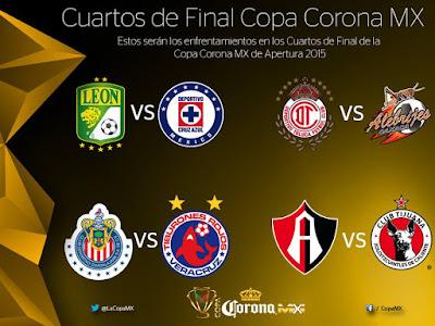 Cuartos de final Copa MX Clausura 2015