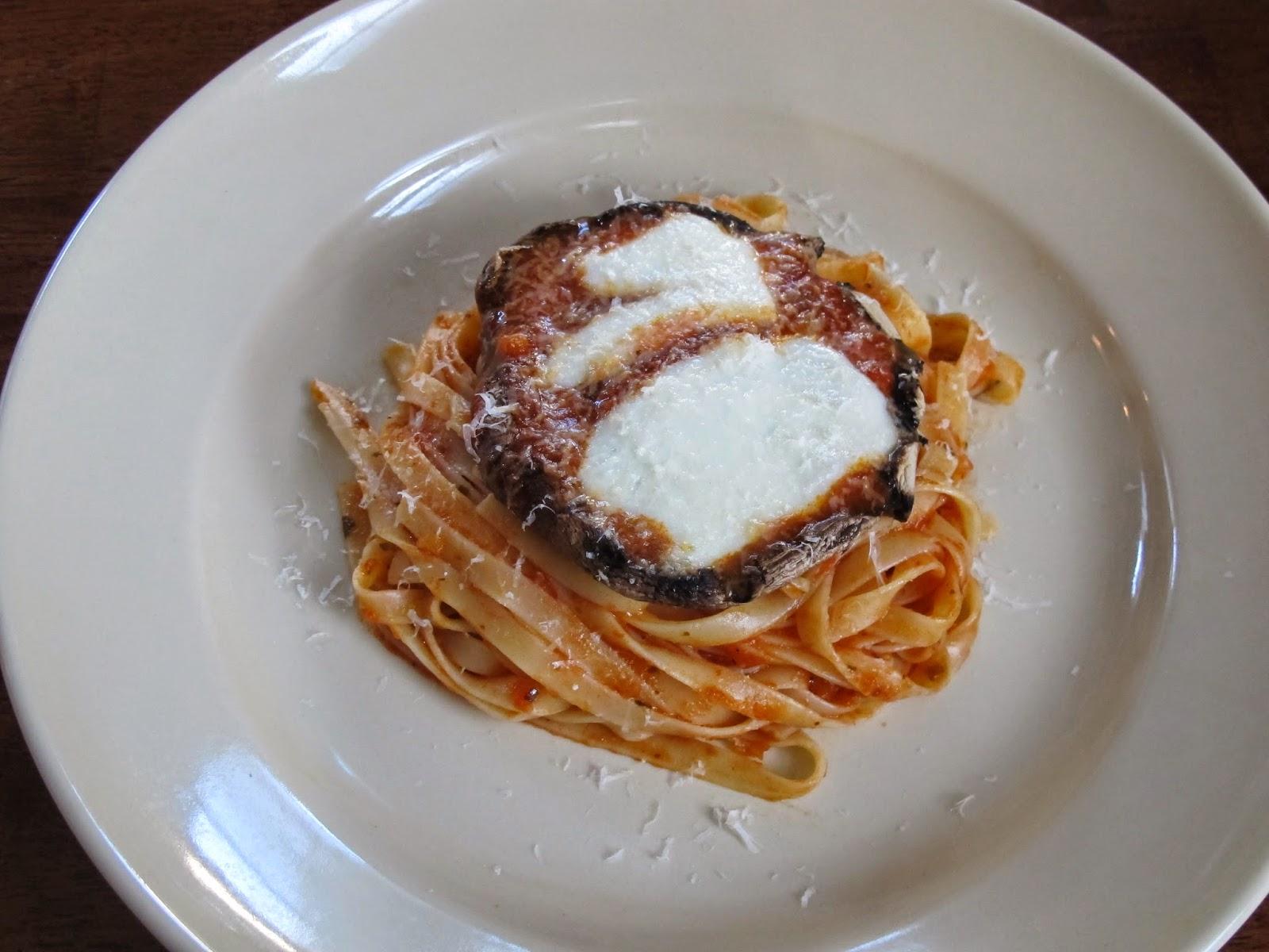 Grilled Portabello Mushroom Parmesan