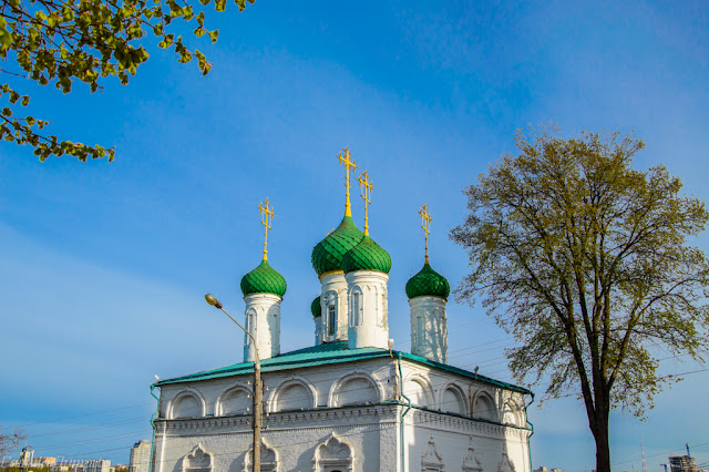 Путешествия: О жизни: Храмы в Старом городе Чебоксары