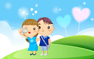 Cartoon Love HD Love Wallpaper