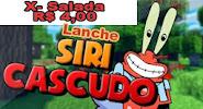LANCHE SIRI CASCUDO