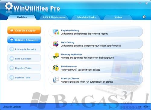 WinUtilities Professional 10.34 + Keygen 2