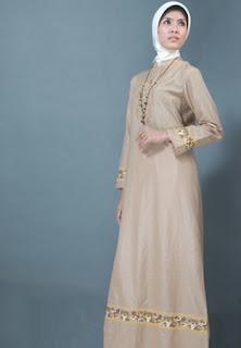 Baju Gamis Modern Model Terbaru Terlaris Bahan Kaos