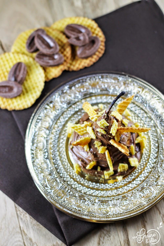 Poire Chocolat Jivara Gaufre fine - Une Graine d'Idée