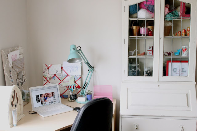 Pastel Office Decor