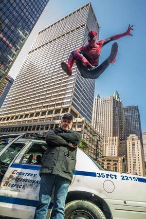Fotos del rodaje de Amazing Spiderman 2