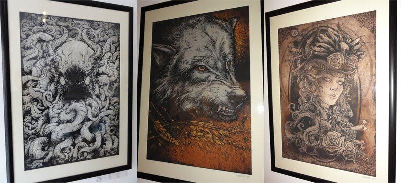 Inside The Rock Poster Frame Blog Godmachine Art Prints