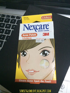 3M Nexcare Acne Patch box front