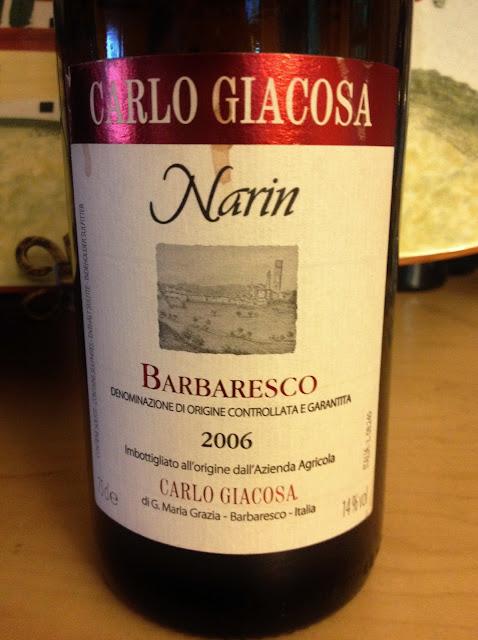 Carlo Giacosa Barbaresco Piedmont
