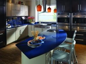 monaco plava detalji u kuhinji
